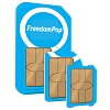 FreedomPop Global 3-in-1 SIM Kit + Free Talk, Text & 1GB Trial + 1GB Bonus