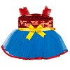 buildabear deals on Red & Blue Sequin Dress