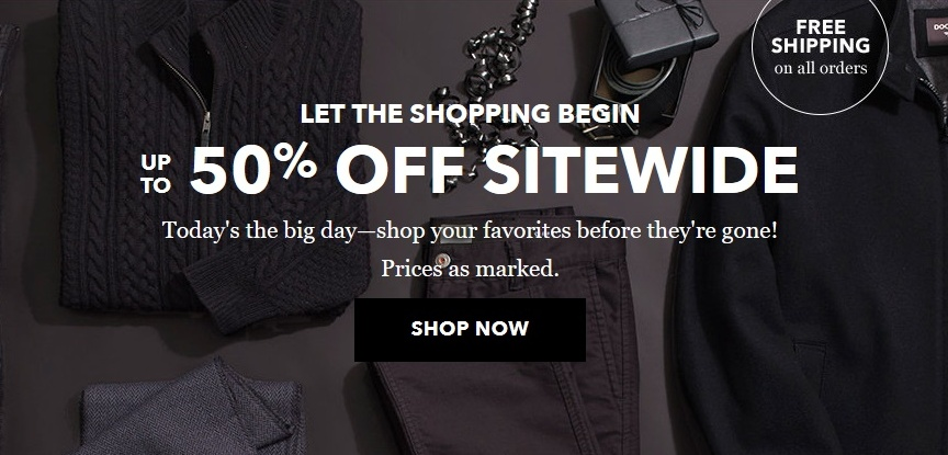 Dockers Black Friday Sale: Up to 50% Off Sitewide