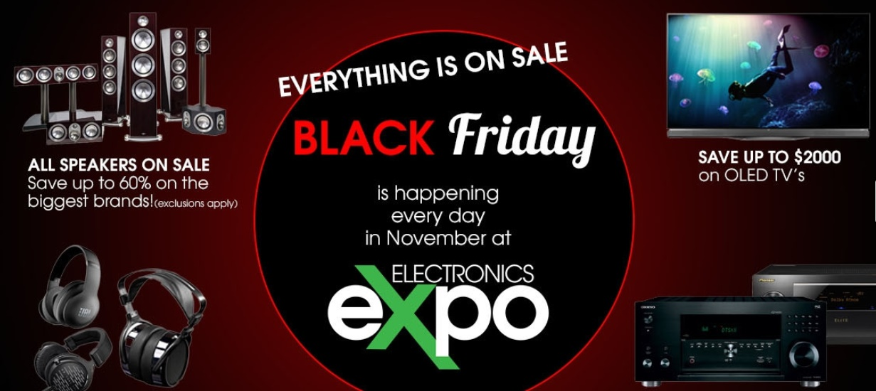 Electronics Expo Black Friday Sale: Up to 60% Off Biggest Brands