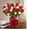 1800flowers deals on 30 Holiday Tulips Bouquet