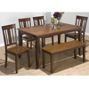 justcabinets deals on Kura 6-PC Dining Set