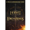 Middle-Earth Extended Editions 6-Film Collection Digital HD Movie $39.99