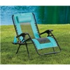 BigLots.com deals on Teal Oversized Zero Gravity Lounger
