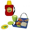 Crayola Lunch-a-Licious Lunch Box and Drink Cup Combo w/Carrying Strap Deals