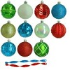 Martha Stewart Living 3 in. Alpine Holiday Shatter-Resistant Ornament Deals