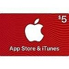 Deals on $5 App Store & iTunes Gift Cards