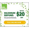H&R Block: Up To $20 Off H&R Block Online Products Deals