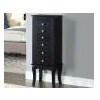 Deals on Black Jewelry Armoire YY1703BLK