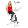 Body Rider Leisa Hart Folding Cardio Cycle w/Lumbar Support
