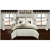 Athena Comforter Set w/Matching Window Treatments 24-Pc Deals