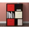 BigLots.com deals on 2 Ameriwood System Build 6-Cube Resort Cherry Storage Cubby