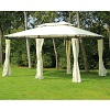 Deals on Outsunny 13-ft x 10-ft Outdoor 2-Tier Steel Frame Gazebo