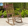 BigLots.com deals on Brown Wooden Rocking Chair WOYCH065