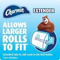 Deals on 4 Charmin Toilet Paper Roll Extender