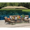 BigLots.com deals on Wilson & Fisher Tan Triple Vent Market Patio Umbrella 15-ft