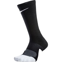 Deals on Nike Mens Dry Elite 1.5 Crew Basketball Socks