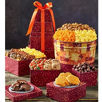 Deals on Fall Splendor Tin & Tower