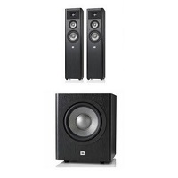 Deals on JBL Studio 270 3-Way Floorstanding Speakers Pair + Subwoofer