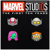 Deals on Marvel Studios Emoji Pin Set Issue for 500 Points
