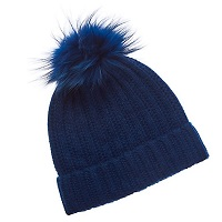 Deals on Phenix Cashmere Hat with Pom