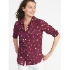 OldNavy.com deals on Old Navy Relaxed Printed Classic Shirt for Women
