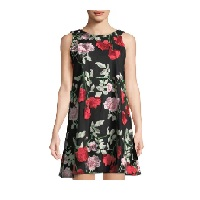 LastCall by Neiman Marcus deals on Label by 5Twelve Floral-Embroidered Mesh Mini Dress