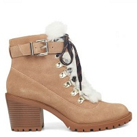 Deals on Nine West Iagree Lace Up Booties