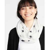 Deals on Old Navy Womens Patterned Performance Fleece Infinity Scarf