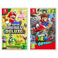 Deals on Nintendo Switch Super Mario Bros U Deluxe & Mario Odyssey
