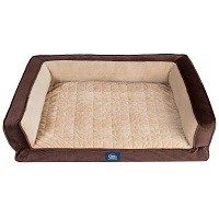 Deals on Serta Ortho Foam Couch Style Bed for Pets