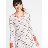 Deals on Old Navy Slim-Fit Printed Thermal-Knit Tee for Women