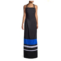Deals on MDS Stripes Jackie Striped Maxi Dress