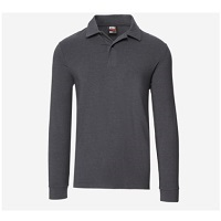 Deals on 32 Degrees Mens Warm Tech L/s Polo