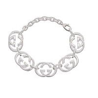 Deals on Gucci Britt Silver Bracelet