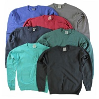 4 Pack of Hanes ComfortWash Garment Dyed Fleece Sweatshirts Deals