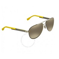 Deals on Gunmetal Mirror Aviator Sunglasses BOSS 0811/F/S HXR