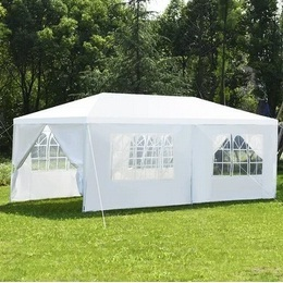 Costway Wedding Tent Canopy Party 10x20-ft w/Side Walls Deals