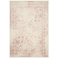 Safavieh Adirondack Dakota Ivory / Rose Distressed Rug 6x9-ft Deals