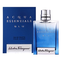 Salvatore Ferragamo Acqua Essenziale Blu Men EDT Spray 3.4oz