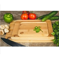 Imperial Home 3 Pc Set Two-Tone Kitchen Cutting Board Deals