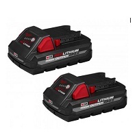 Deals on 2-Pack Milwaukee M18 High Output Cp 3.0AH Battery