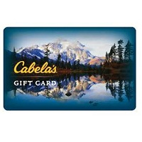 Deals on Free $20 Bestbuy Gift Card w/Purchase $200 Cabelas Gift Card