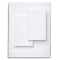 Deals on Frette Luxe Percale White Sheet Set