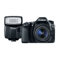 Canon.com  deals on Canon EOS 80D EF-S 18-55 & Speedlite EL-100 Bundle Refurb
