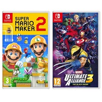 Deals on Super Mario Maker 2 and Marvel Ultimate Alliance 3