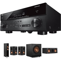 Deals on Klipsch 5.1-Channel Speaker System & Yamaha RX-A780 Receiver