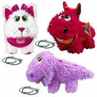 Deals on Set of 3 Baby Stuffies With Friendship Bracelets