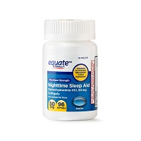 Deals on 2 Pack Equate Maximum Strength Nighttime Sleep Aid Softgels