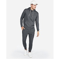 Deals on Express EXP Drop Shoulder Popover Hoodie